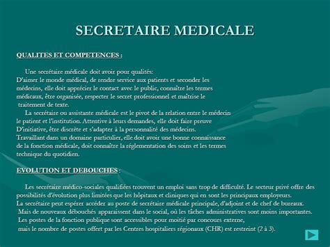 poste de secretaire medicale poste de secretaire medicale 28 images t 233 l 233 charger mod 232 le cv word secr 233 taire