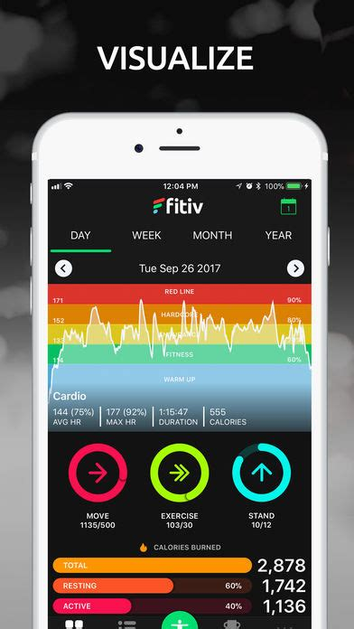 Fitiv Run Gps Route Tracker Hr App Report On Mobile Action