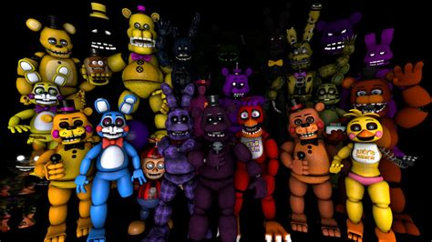 Fnaf(sfm) Thank You(fan Characters) By Mikowater93 On