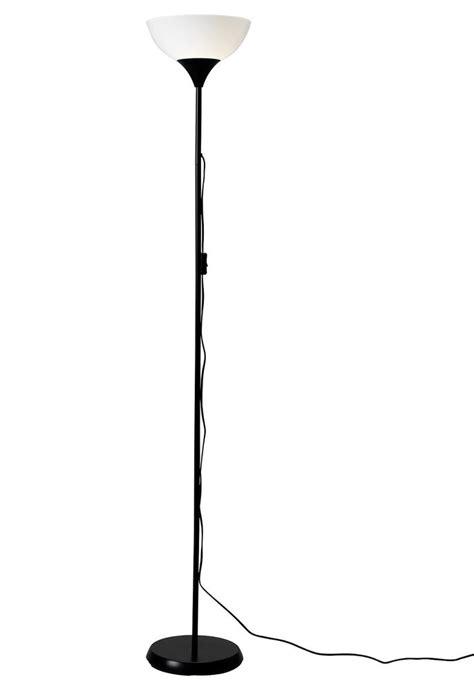black tall standing l ikea not floor standing uplighter l light stylish white