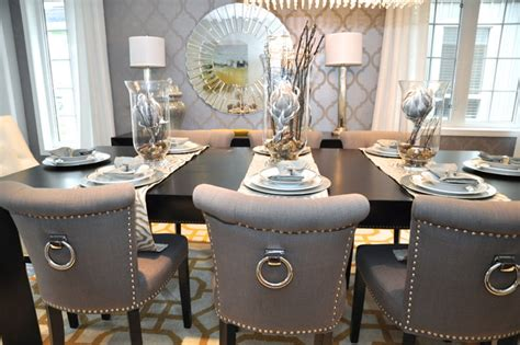 HD wallpapers dining and living room set up