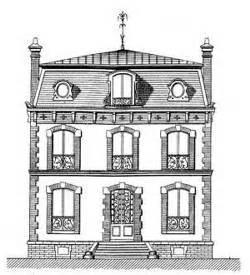 une maison au vesinet du xixe siecle With dessin plan de maison 15 epiais rhus histoire