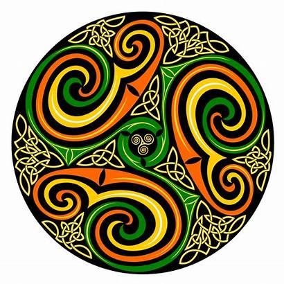 Celtic Spiral Clip Svg