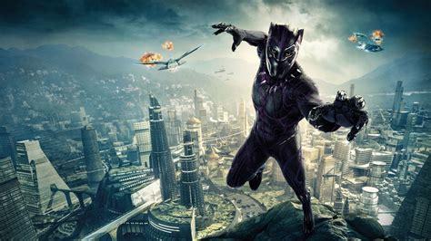 wallpaper black panther    movies