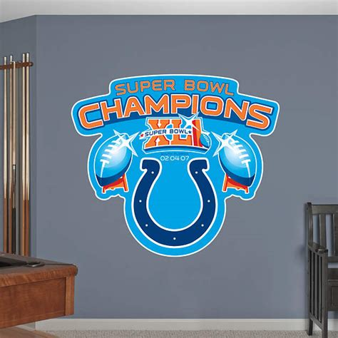 Shop Indianapolis Colts Wall Decals And Graphics Fathead Nfl
