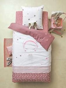Housse De Couette Petite Fille : linge de lit enfant parure de lit enfants fille ~ Melissatoandfro.com Idées de Décoration