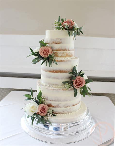 pink cake box wedding cake design