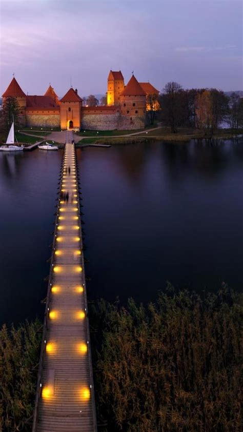 castles lithuania trakai fort baltic states unseen
