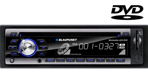 auto cd player blaupunkt montevideo 4010 in car dvd and cd player with am fm radio aux input for mp3 playback