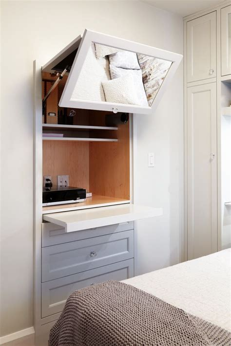 Bedroom Desk Storage by Storage Great Idea Would This Be Between Studs