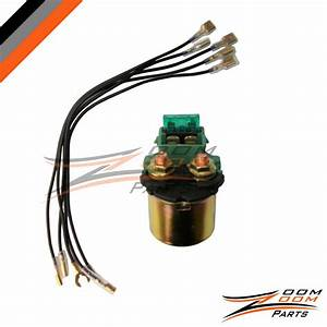 Starter Relay Solenoid Honda Gl1200 Gl 1200 Goldwing 1984