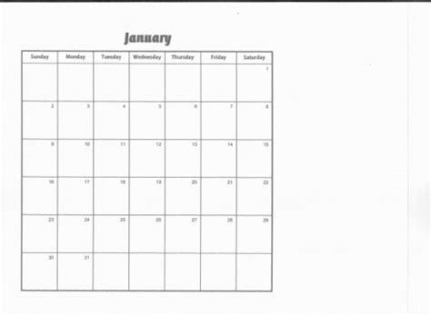 scrapbook calendar template jacqueuc artfire