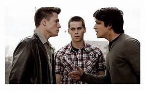 Colton Haynes, Dylan O'Brien and Tyler Posey in TEEN WOLF ...