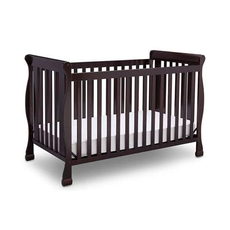 Delta Children Riverside 4in1 Convertible Crib Dark