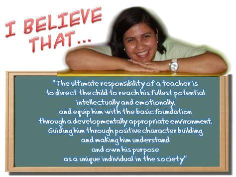my educational philosophy the preschool s circle 397 | slide12