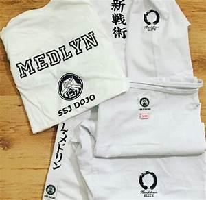 Karate Gi Size Chart Uk Elite Hybrid Gi Kudo Cut Any Embroidery White Ivory