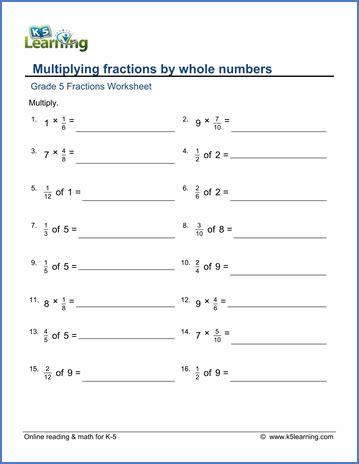 Number Names Worksheets » Fractions Of Quantities Worksheet  Free Printable Worksheets For Pre