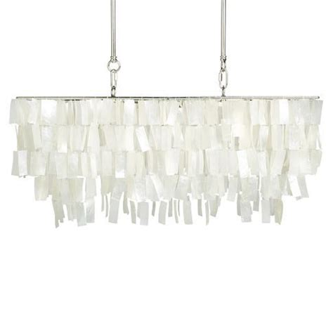large rectangle hanging capiz pendant white west elm