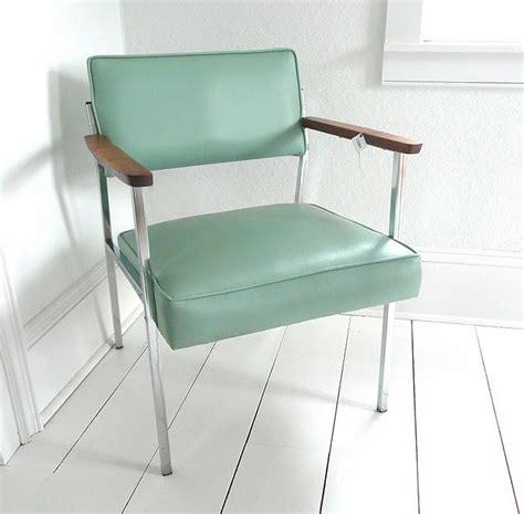 seafoam green office chair green blue