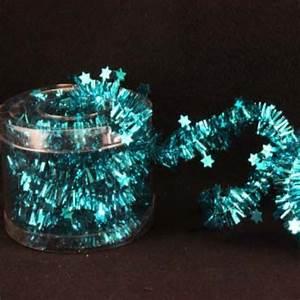 Turquise, Blue, Tinsel, Christmas, Tree, Decoration