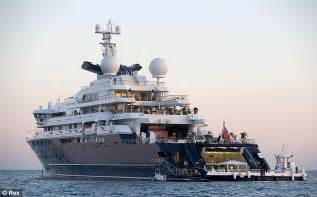 Miami Boat Show Office by Abramovich And Microsoft S Billionaire Battle