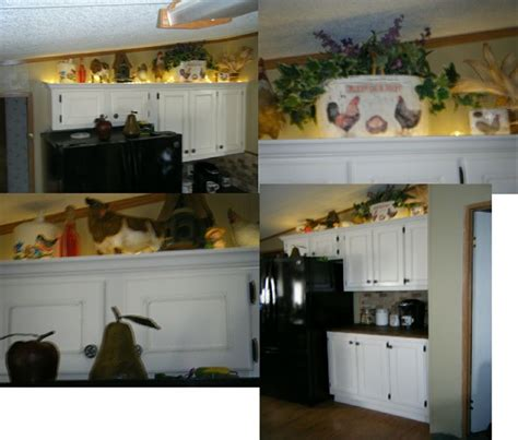 rope lighting above cabinets house