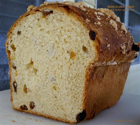 Here's how they make that popular christmas bread called pannetone that you see in the grocery. Polish Easter Sweet Bread - Make It Like a Man!