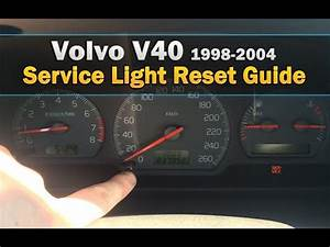 2005 Volvo S4reset Service Light