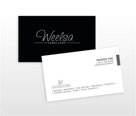 georgetown business card template weelsa namecard design penang web and graphic design