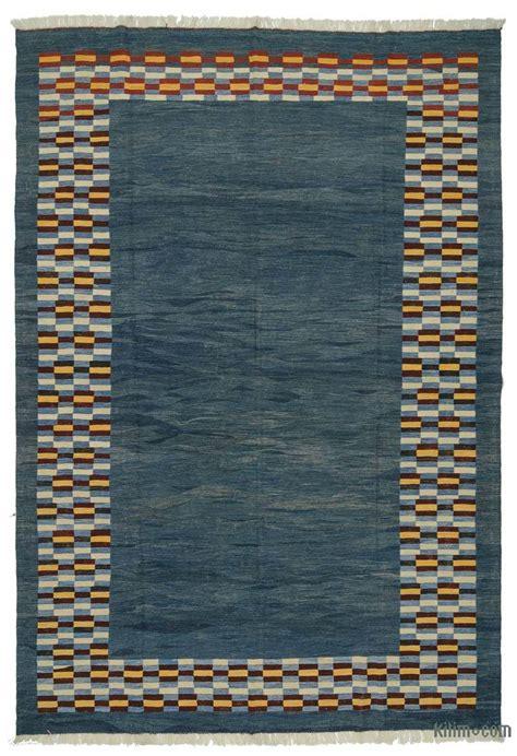 blue kilim rug k0005824 blue new turkish kilim rug