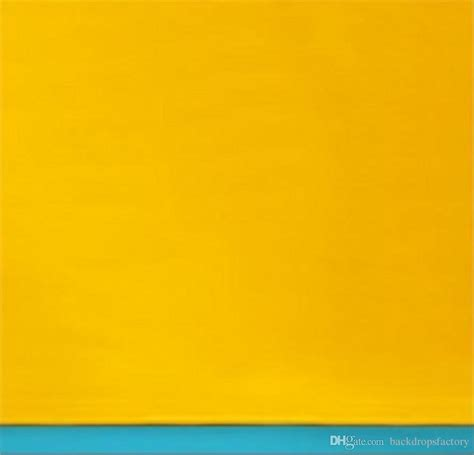 solid yellow color wall photography backdrops blue