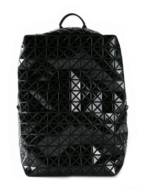 bao bao issey miyake prism backpack  black lyst