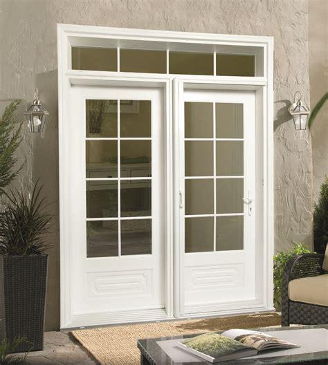 swing out patio doors milgard out swing doors