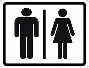 man and woman symbol restroom sign signs by salagraphics With men and women bathroom symbols