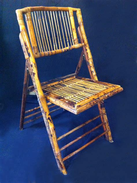 bamboo folding chairs we rent atlanta