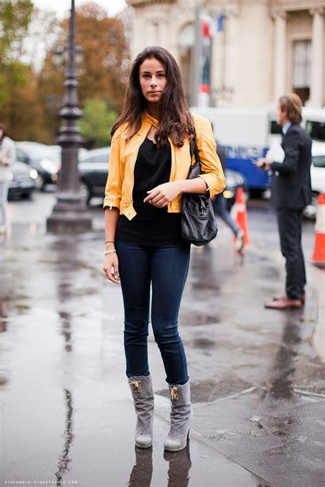 Brunette Cute Denim And Denim Jacket Image On Favim Com