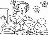 Coloring Garden Pages Gardening Flower Watering Clipart Water Printable Spring Nutcracker Colouring Clip Books Bestcoloringpagesforkids Line Student Print Holiday Preschool sketch template