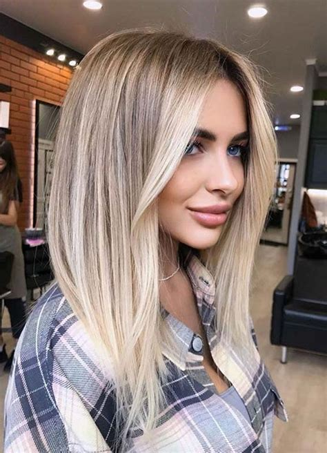Fantastic Medium to Long Hairstyles and Hair Color Ideas