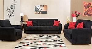 Sofa Beds: Orlando Microfiber Sofa Bed ORLANDO-SOFA/5 - BA