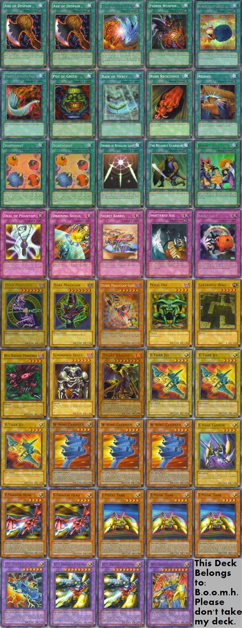 yu gi deck oh card yugioh cards deviantart