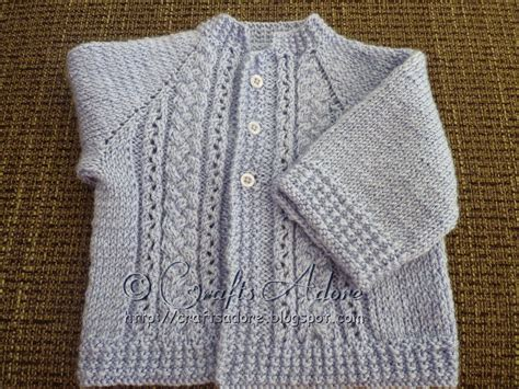 sweater knitting pattern craftsadore quot handsome cables quot knitted baby boy cardigan