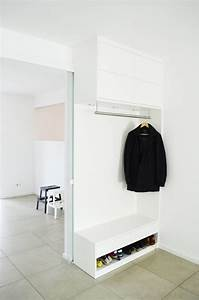 Garderobe Mit Sitzbank Und Schuhschrank : die besten 25 garderobe flur ideen auf pinterest ~ Indierocktalk.com Haus und Dekorationen