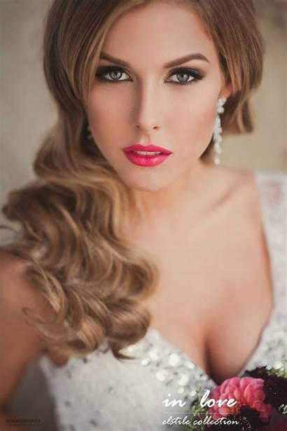 Makeup Hair Hairstyles Bridal Beauty Stunning Elstile