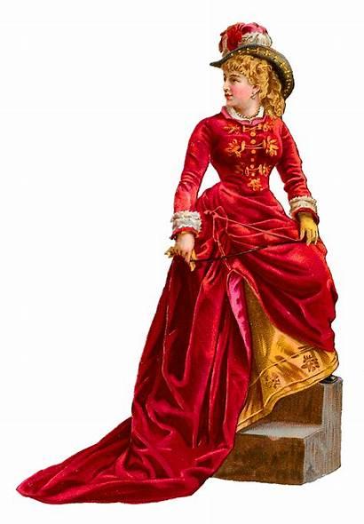 Victorian Clip Antique Downloads Woman Graphics
