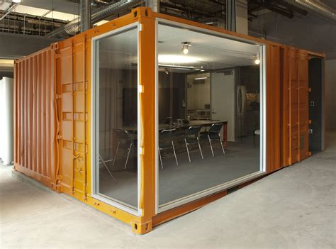 shipping container conference room cubedepot container