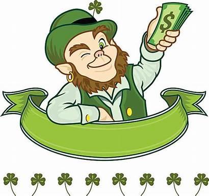 Leprechaun Irish Scroll Clip Illustrations Plenty Graphics