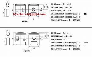 Piston Tiger Di Yamaha Jupiter Z