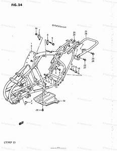Suzuki Atv 1988 Oem Parts Diagram For Frame