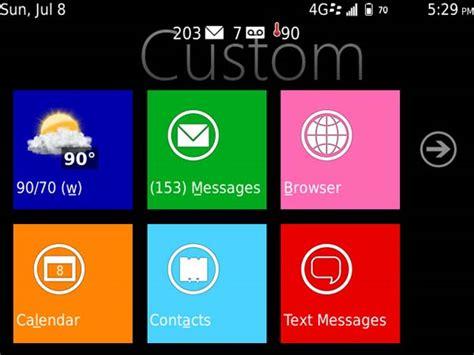 tema windows 8 untuk blackberry terbaru 2013