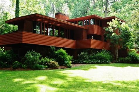 robert green quot frank lloyd wright house quot modern exterior atlanta by design2sell interiors